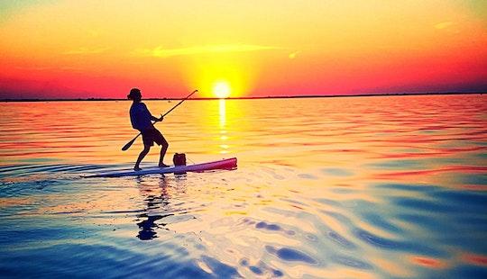 Paddleboard Rental On Lake Winnebago In Wisconsin