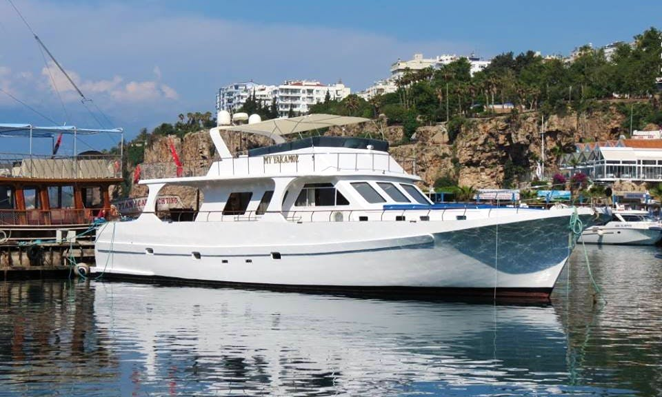 VIP Boat Cruise and Fishing Tour in Antalya, Turkey