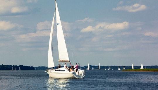Sailing On Delphia 33 Mc Cruising Monohull Charter In Gmina Mikołajki, Poland