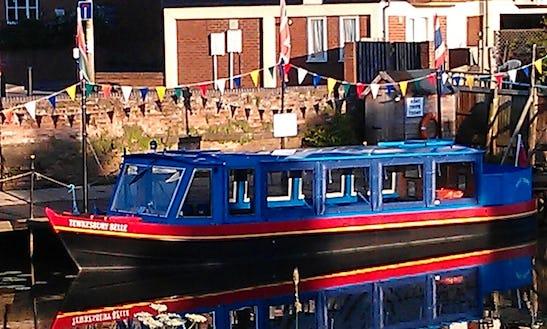 'tewkesbury Belle' Boat River Cruise In Tewkesbury, England