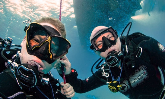 Diving Courses In Prague