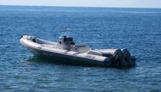 Rent Sacs S 33 X-file Powerboat In Orbetello Powerboat