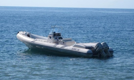 Rent Sacs S 33 X-file Powerboat In Orbetello Powerboat