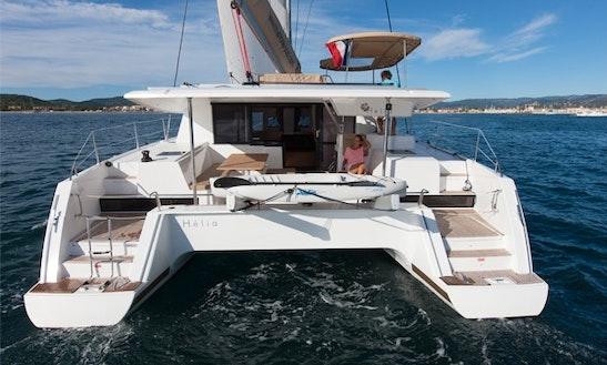 Fountaine Pajot Helia 44 Cruising Catamaran Charters In Marigot, Saint Martin