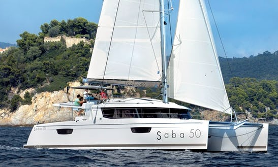 Fountaine Pajot Saba 50' Cruising Catamaran Charters In Marigot, Saint Martin