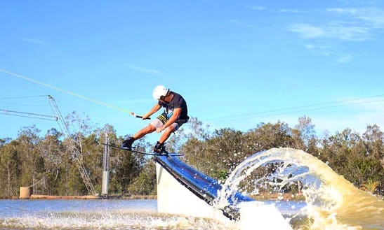Cable Wakeboarding Lessons And Hire In Carbrook, Australia
