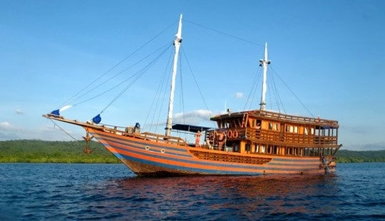 The Seven Seas Gulet Charter In Pulo Gadung, Indonesia