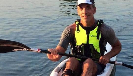 11' Single Kayak Rental & Lessons In Saint Clair Shores, Michigan