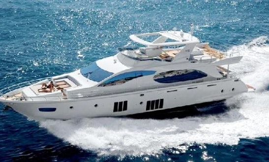 Princess 88 Luxury Mega Yacht For Rent In Cyprus
