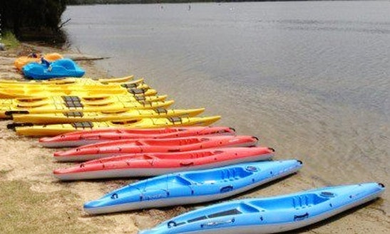 Single Kayak Hire In Narrabeen