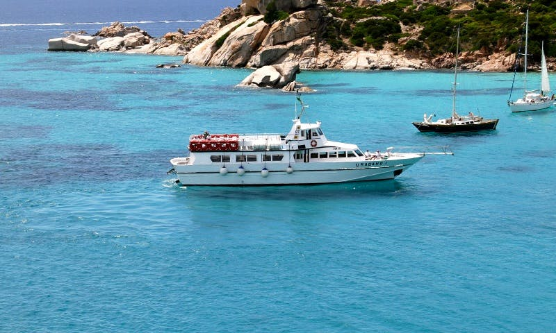Amazing Cruise on Sardinia and Corsica coast in Italy
