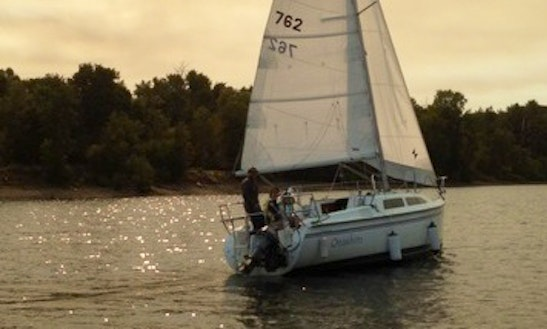 25ft Hunter Cruising Monohull Boat Rental In Portland, Oregon
