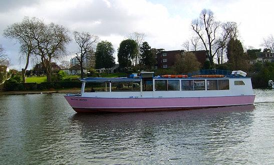 Walton Jester Passenger Boat Hire In Shepperton
