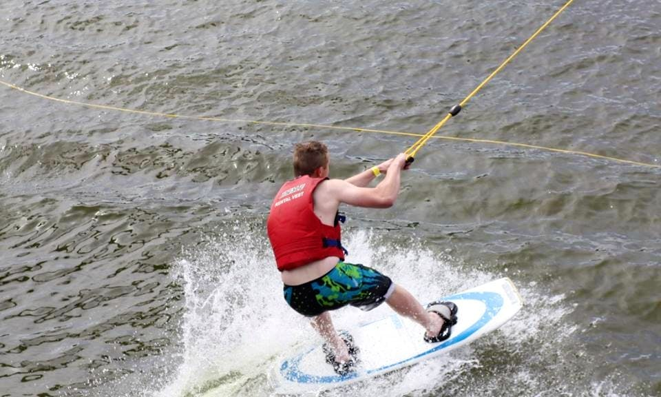 Wakeboarding Lessons in Rossau