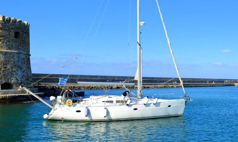 44' Cruising Monohull Charters in Iraklio, Greece