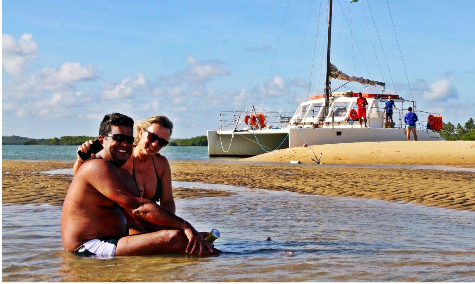 Enjoy the water in Rio Grande do Norte, Brazil on a Sailing Catamaran