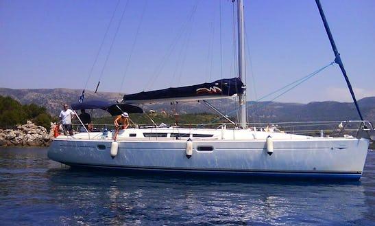 Sun Odyssey 45 Sailing Yacht Charter In Iraklio