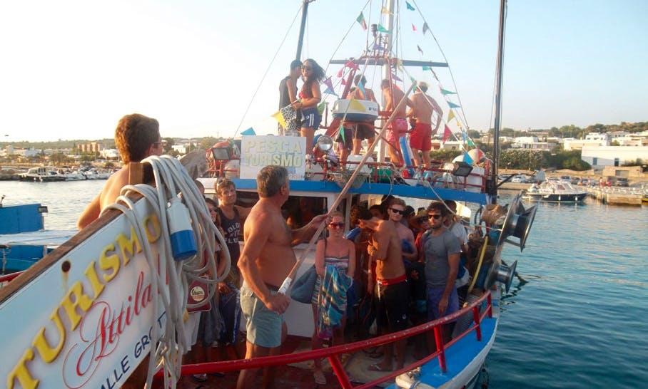 """""""Attila II""""  Fishing Excursion in Torre Vado"""