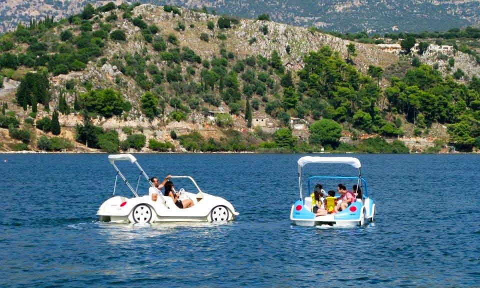 Pedal Boat rental in Kefallonia