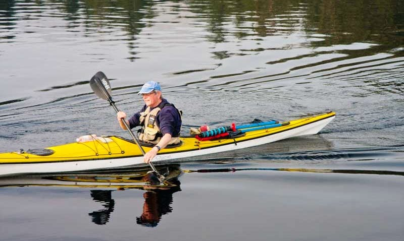 Explore Loch Lomond in Scotland on your own Single Kayak Hire!