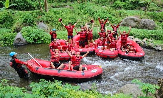 Whitewater Rafting Trips In Pacet