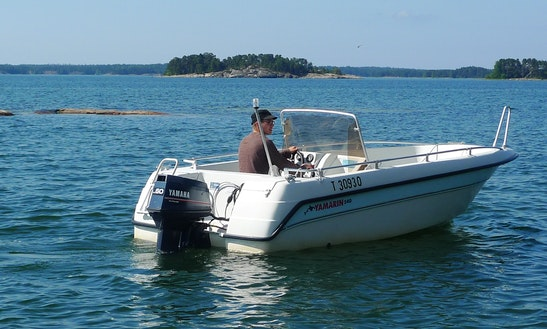 Rent Yamarin Powerboat In Finland