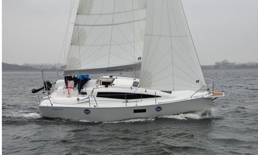 Maxus 26 Cruising Monohull Charter in Gizycko