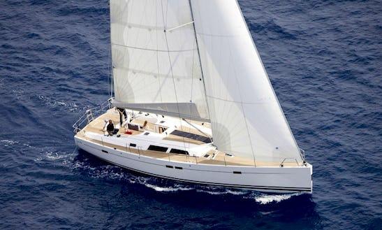 Cruising Monohull Hanse 540 In Tuscany