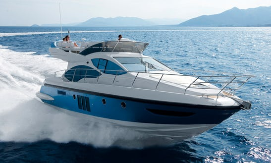 Azimut 45 Flybridge Motor Yacht Charter In Varazze