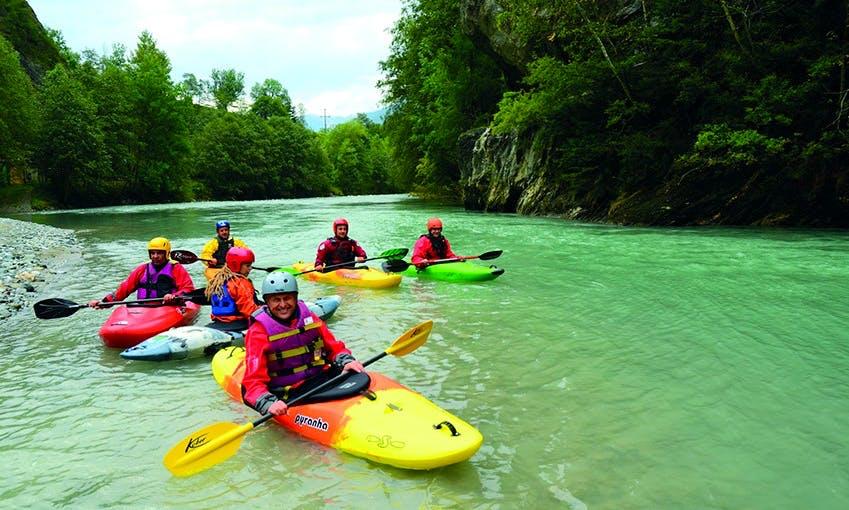 Kayak Trips in Gemeinde Ainet