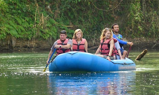 Arenal Volcano Safari Float Guided Tour In La Fortuna, San Carlos