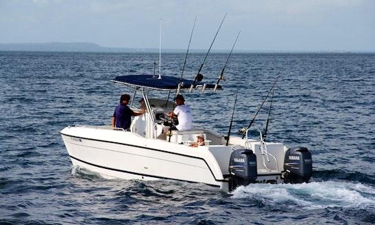 Glacier Bay Canyon Runner 27 'cobia' Power Catamaran Charter In Zanzibar
