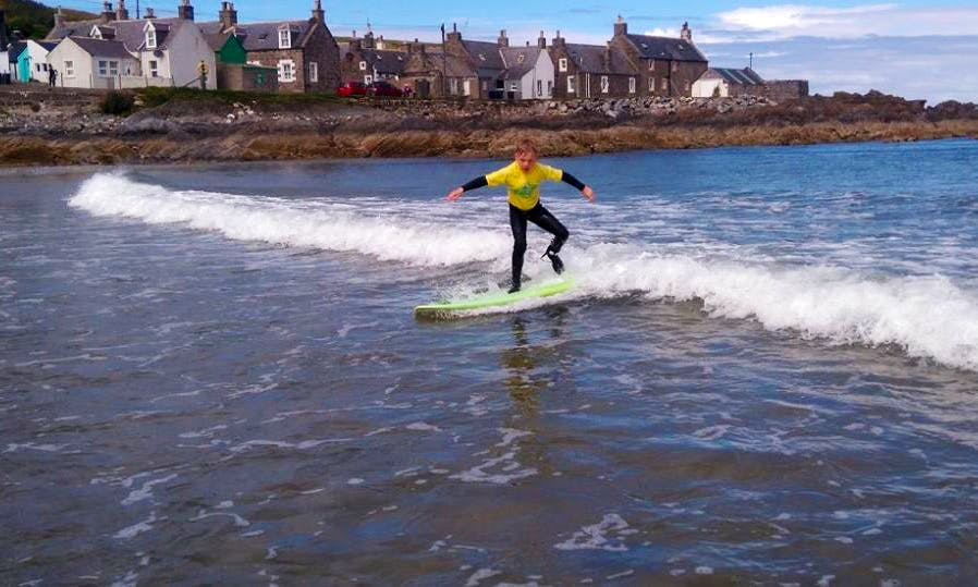 Surfing Lessons in Scotland, United Kingdom