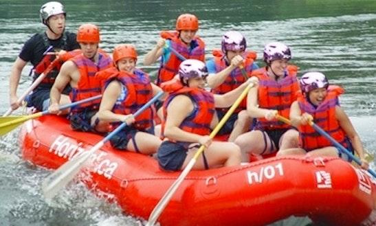 Rafting Trips In L'Île-du-grand-calumet, Canada