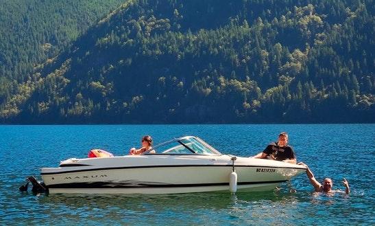 18' Maxum Bowrider Rental In Maple Ridge, British Columbia