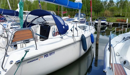Maxus 33 Sailing Yacht Charter For 8 Person In Giżycko, Poland