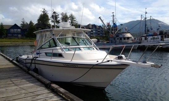28' Grady White Marlin Fishing Charter In Ucluelet