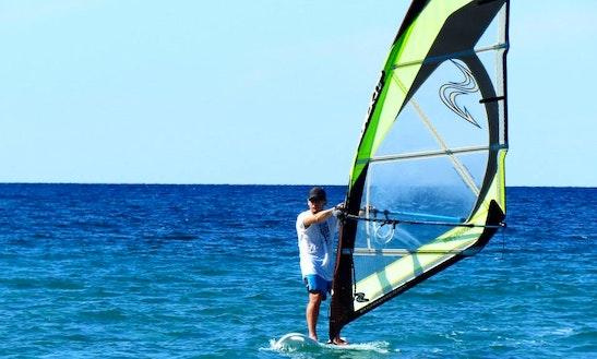 Windsurfing Lessons In Eceabat