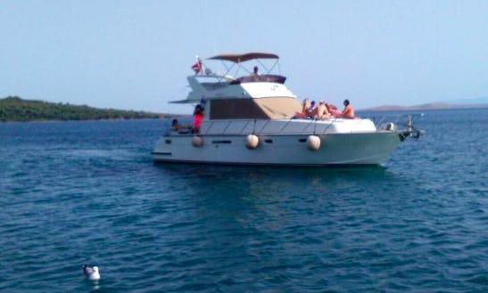 Boat Cruise Around The Aegean Coast In Turkey