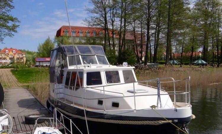 38' Motor Yacht Charter in Giżycko, Poland