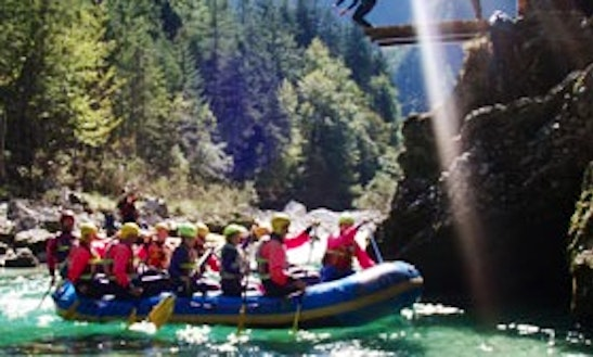 Spend An Awesome Rafting Time In Landl, Austria For Up To 6 Persons.
