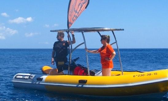 Sealver 575 Rib Rental In Ciutadella De Menorca, Spain
