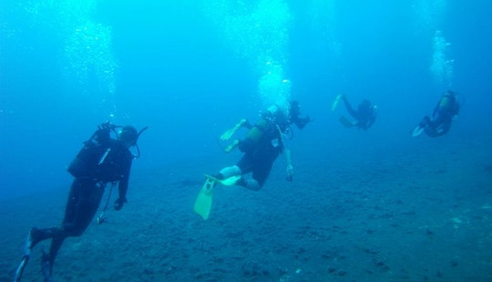 Scuba Lessons In Protaras, Cyprus