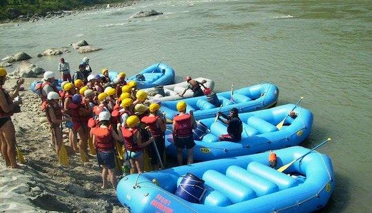 White Water Rafting In Kathmandu, Nepal