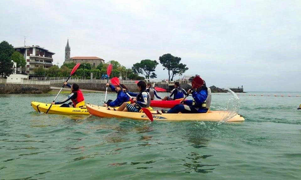 Double Kayak Rental and Courses in Ibarrangelu