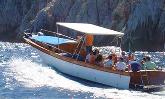 Passenger Boat Charter In Furore, Italy