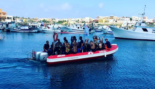 Diving Trips And Courses For 12 Persons In Lampedusa, Italy