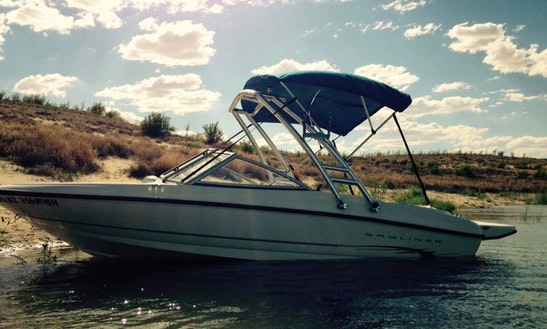 Rent This 17.5' Bayliner Bowrider And Enjoy Lake Powell