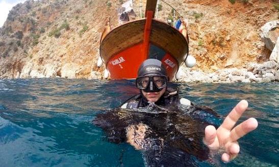 Scuba Diving In Alanya