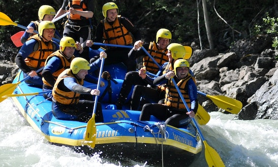 Rafting Tour In Schneizlreuth